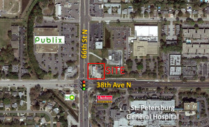 66th St N & 38th Ave – St. Petersburg, FL (LEASED)