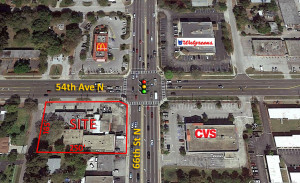 66th St N & 54th Ave – St. Petersburg, FL (LEASED)