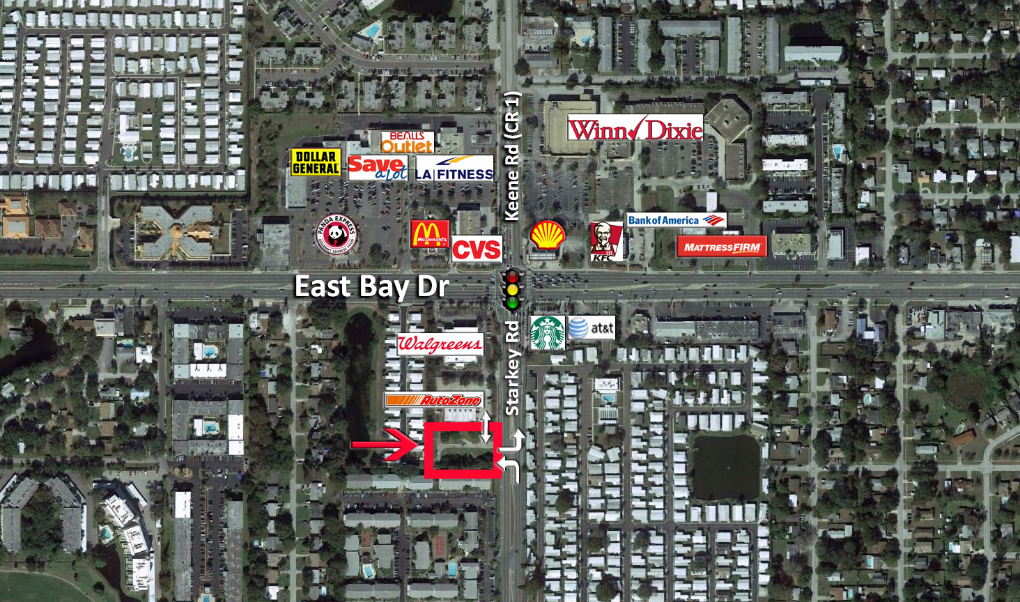 Starkey & East Bay Aerial